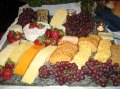 Gourmet Cheese and Fruit Hor'deurves on Granite