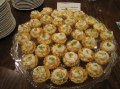 Key Lime Pie with Brown Sugar Whipped Cream in Mini Phyllo Cups
